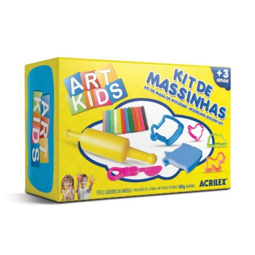 KIT DE MASSINHAS 2 180G ACRILEX