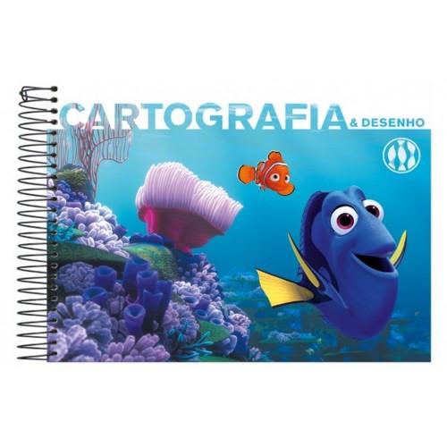 CADERNO DE CARTOGRAFIA C.DURA 96FLS PROCURANDO DORY FORONI