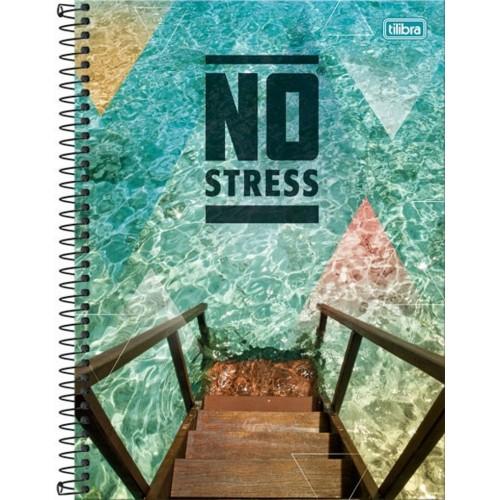 CADERNO UNIV. C.D 96FLS NO STRESS