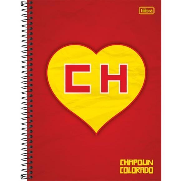CADERNO UNIV. C.D 96FLS CHAPOLIN TILIBRA