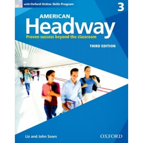 American Headway 3 - Student'S Book With Oxford Online Skills Program - Third Edition