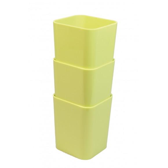 Kit com 03 Porta Objetos Multiuso