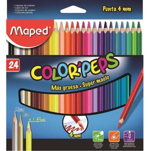 LAPIS DE COR C/24 COLORPEPS CORES - REF-835524