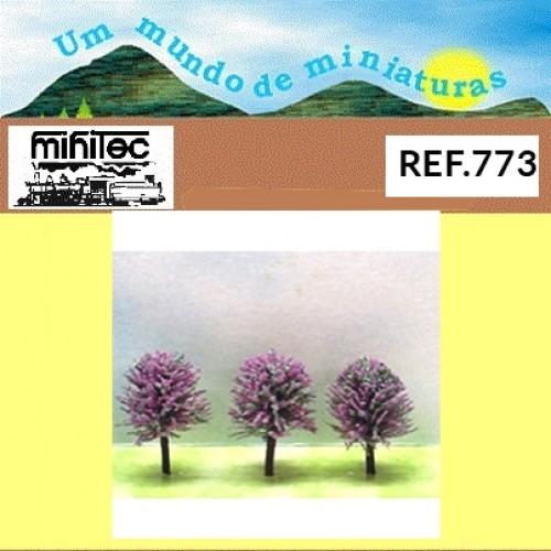 ARVORES EM MINIATURA C/3 UNIDADES REF-773