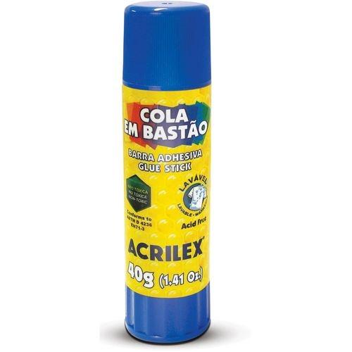 COLA BASTAO  40G ACRILEX REF-02740