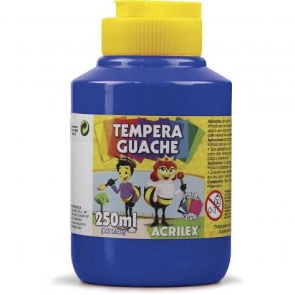 TINTA GUACHE 250ML AZUL TURQUESA 501