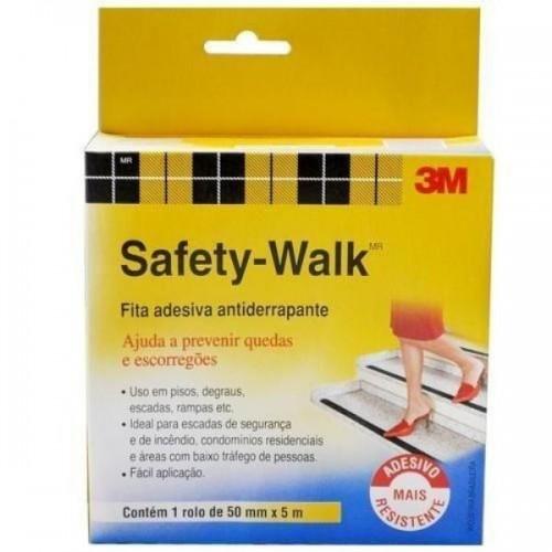 Fita Adesiva Anti-Derrapante 50 Mm X 5 Metros - Safety Walk - 3m (Incolor)