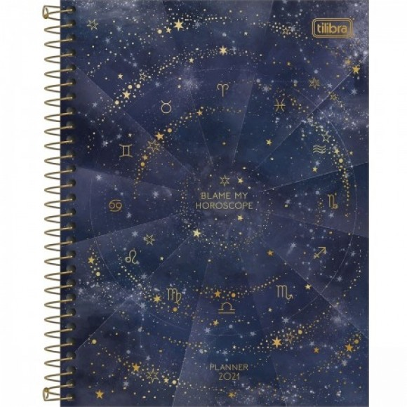 PLANNER ESPIRAL MAGIC 2021 TILIBRA