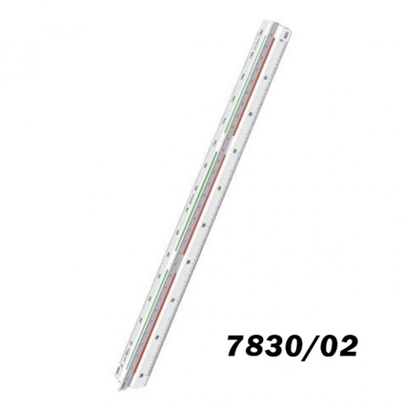 ESCALIMETRO TRIDENT REF.7830/2 30CM