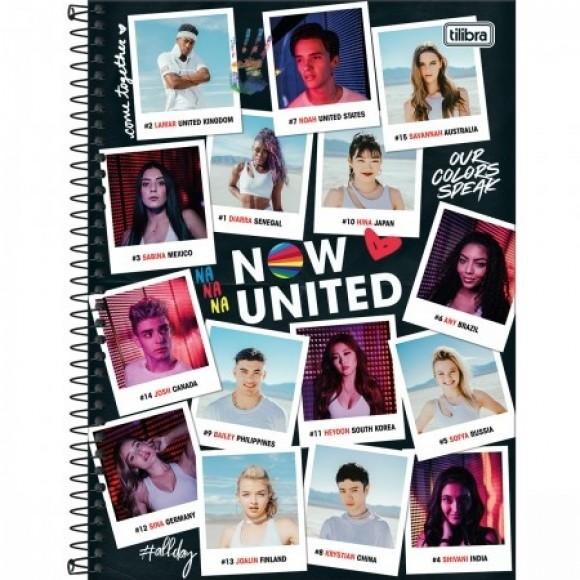 CADERNO UNIV. ESP. CD 80FLS NOW UNITED REF 318345