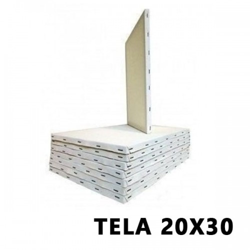 TELA P/PINTURA 20X30 JAMELLI
