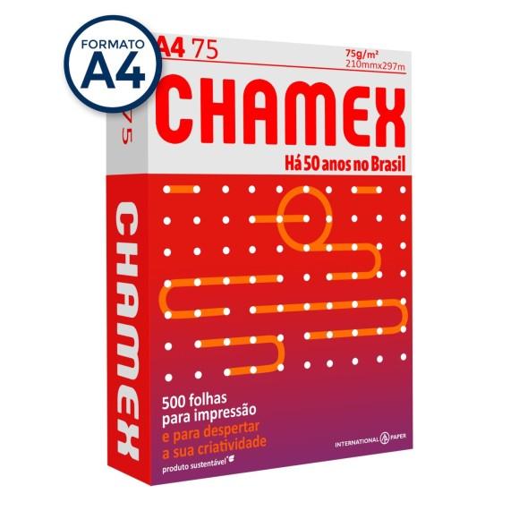 PAPEL SULFITE A4 500FLS 75G CHAMEX