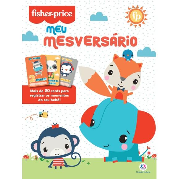 LIVRO INFANTIL COLORIR MESVERSÁRIO - FISHER PRICE