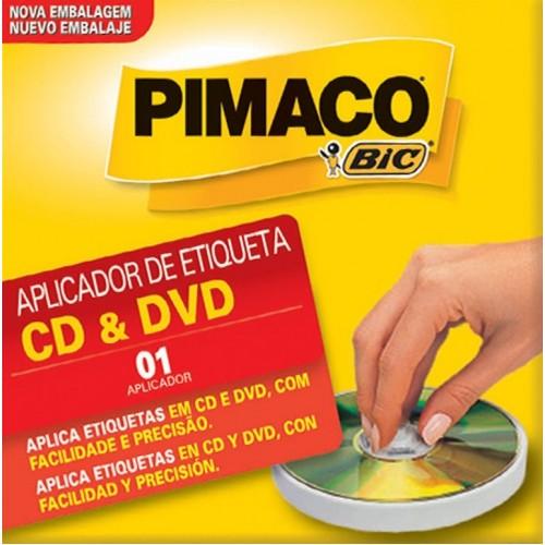 APLICADOR DE ETIQUETAS P/ CD - PIMACO